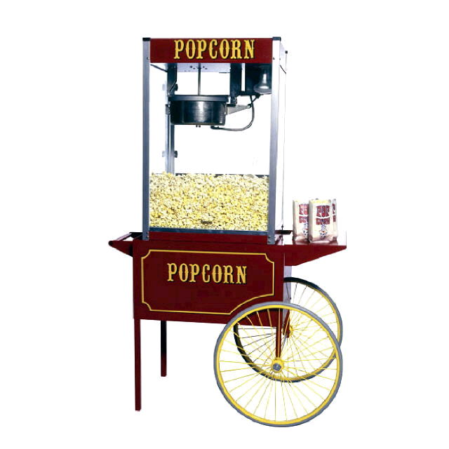 Where to find POPCORN POPPER - with CART in Gulfport