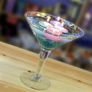 Where to find GLASS DECOR MARTINI GLASS 16  XLGE in Gulfport