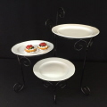 Rental store for STAND, 3 TIER SWIVEL with plates in Gulfport MS