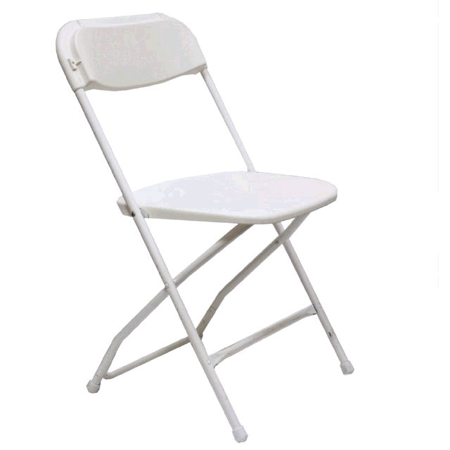 Where to find CHAIRS, WHITE METAL FOLDING in Gulfport