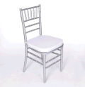 Rental store for CHAIRS, CHIAVARI SILVER in Gulfport MS