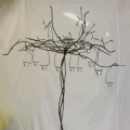 Rental store for VOTIVE WIRE TREE  PAIR  with candles in Gulfport MS