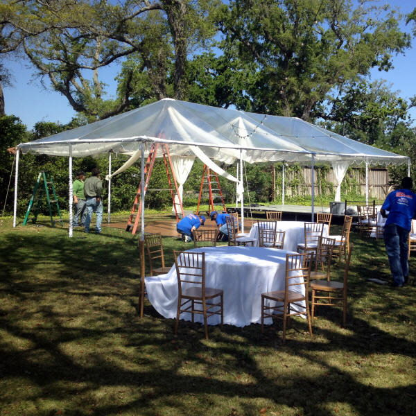 Tent Frame 20 Foot X40 Foot Clear Rentals Gulfport Ms