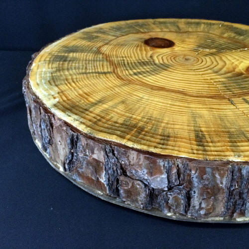 Where to find CAKE STAND WOOD SLAB 18 in Gulfport