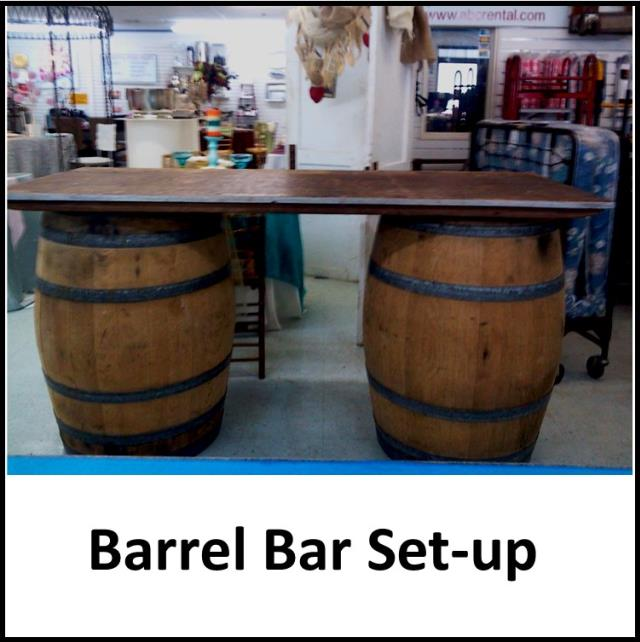 Where to find WINE BARREL TOP FOR BAR in Gulfport