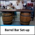 Rental store for WINE BARREL TOP FOR BAR in Gulfport MS