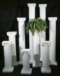 Rental store for COLUMNS, 24  WHITE - EACH in Gulfport MS