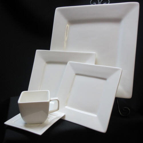 Where to find CHINA - WHITE SQUARE PATTERN in Gulfport