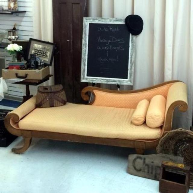 Where to find FURNITURE, VINTAGE COUCH  2 PILLOWS in Gulfport