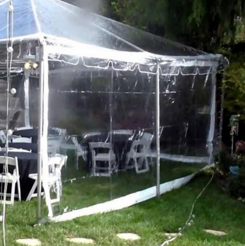 Where to find TENT WALLS - CLEAR 20  x 8 in Gulfport