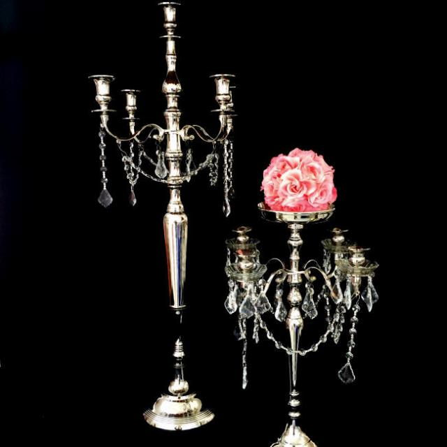 Where to find CANDELABRA 40  SILVER   CRYSTAL in Gulfport