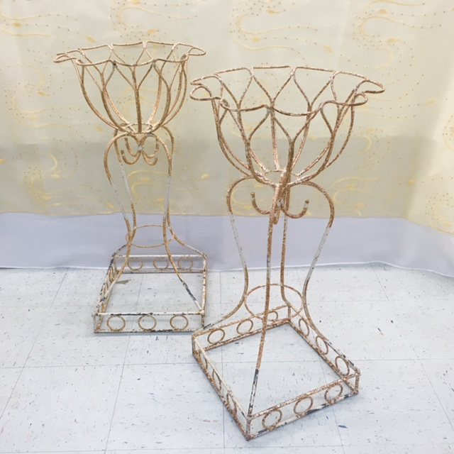 Antique Wire Plant Stands 34 Inch Ea Rentals Gulfport Ms Where To