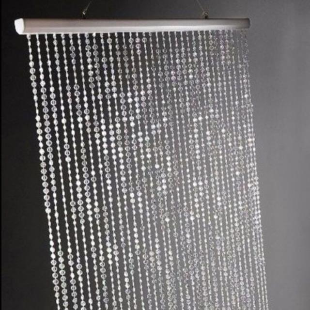 Where to find DRAPE KIT   CRYSTAL BEADED CURTAIN 8 in Gulfport
