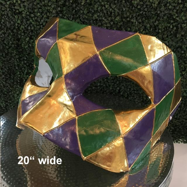 Mardi Gras Mask Large Rentals Gulfport Ms Where To Rent