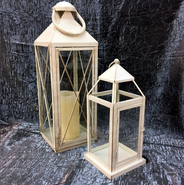 Where to find LANTERNS - OFF WHITE LARGE 22 in Gulfport