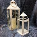 Rental store for LANTERNS - OFF WHITE MEDIUM 15 in Gulfport MS