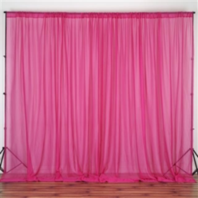 Where to find DRAPES ADD-ON 10  FUCHSIA SHEER in Gulfport