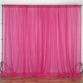 Rental store for DRAPES ADD-ON 10  FUCHSIA SHEER in Gulfport MS