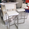 Rental store for FURNITURE, STOOLS WHITE CHROME in Gulfport MS