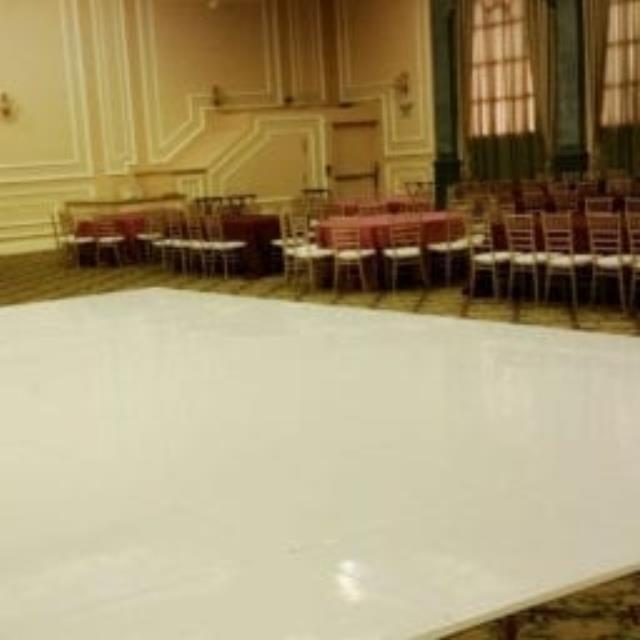 Where to find WHITE SOLID DANCE FLOOR RENTAL in Gulfport