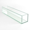 Rental store for GLASS VASE RECTANGLE CLEAR 4Hx 4Wx 20L in Gulfport MS