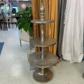 Rental store for FLOOR METAL 3 TIER STAND - 4 6  x 30 in Gulfport MS