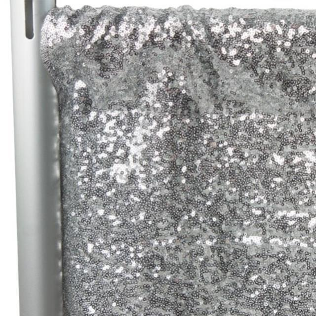 Where to find DRAPES ONLY SEQUIN 10  SILVER  P D in Gulfport