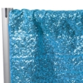 Rental store for DRAPES ONLY SEQUIN 12  AQUA  P D in Gulfport MS