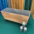 Rental store for BEVERAGE TUB WOOD 30 X10 wide in Gulfport MS