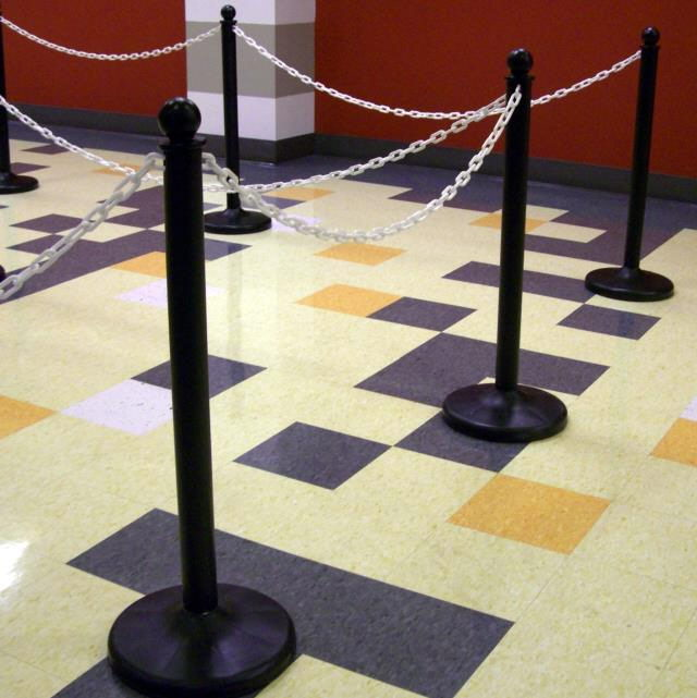 Where to find STANCHION, BLACK PLASTIC in Gulfport