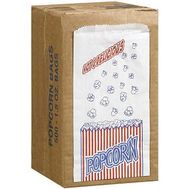 Where to find POPCORN BAGS - 2 OZ   100 in Gulfport