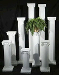Rental store for COLUMNS, 40  WHITE - EACH in Gulfport MS