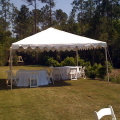 Rental store for TENT-FRAME 20 X20  WHITE in Gulfport MS