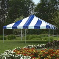 Rental store for TENT-FRAME 20 X20  BLUE in Gulfport MS
