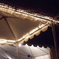 Rental store for TENT LIGHTS - LGE STRING 40 in Gulfport MS