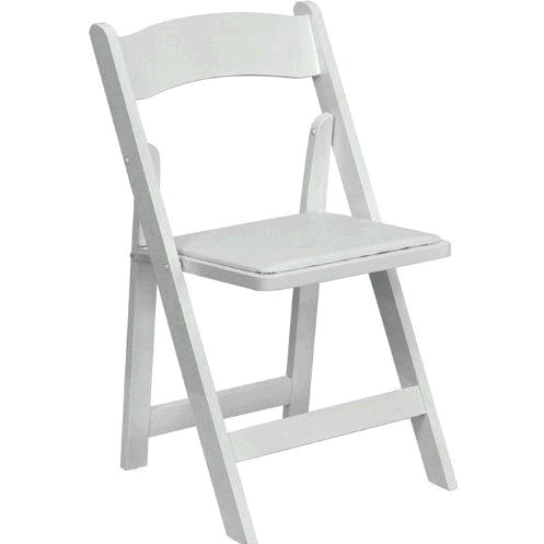 Where to find CHAIRS, WHITE GARDEN w pad seat  1042 in Gulfport