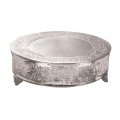 Rental store for CAKE STAND SILVER  RND 22 in Gulfport MS